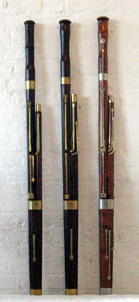 Classical & Romantic Bassoons, front